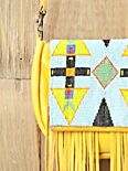 Canary Beaded Crossbody