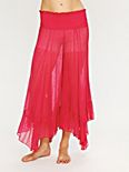 Embroidered Chiffon Gaucho