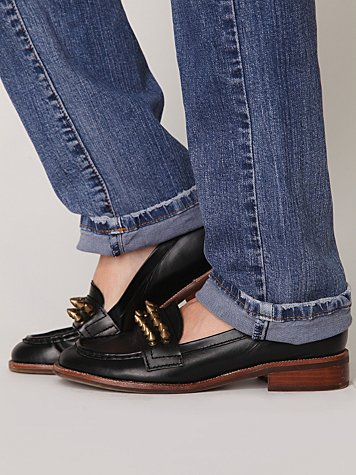 Jeffrey Campbell Spiked Loafer