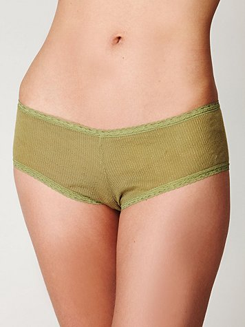 Intimately Free People Clover Pointelle Boyshort