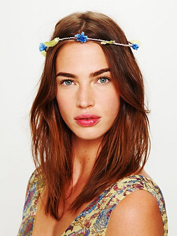 Free People Fiona Flower Halo