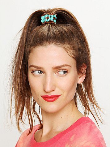 Free People Beaded Ponytail Cuff