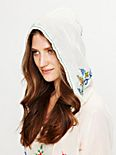 Crewelwork Hooded Top