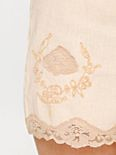 Perimeters in Lace Linen Short