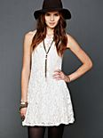 Sleeveless Miles of Lace Dress