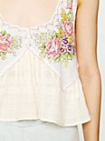 FP New Romantics Printed Crop Cami