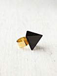 Retro Pyramid Ring