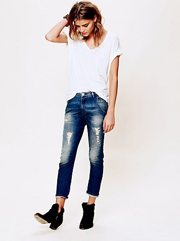 Maison Scotch Mademoiselle Slim Tapered Crop