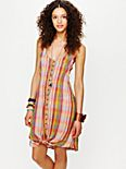 FP New Romantics Knotted Ikat Dress