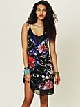 Digital Print Slip Dress