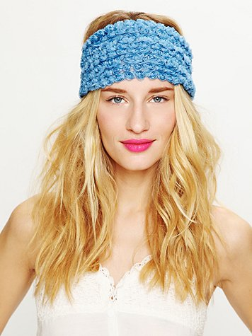 Free People Tatty Floral Gauze Headwrap
