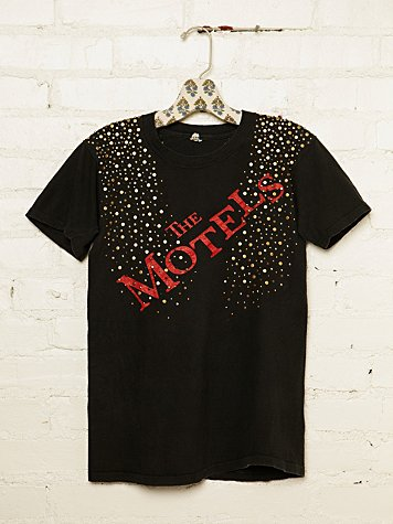 Vintage Studded Motels Rock Tee