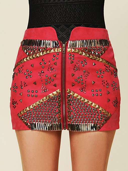 Rattlesnake Mini Skirt