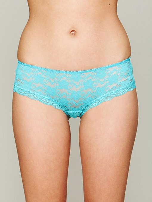 Intimately Free People Lacey Basic Hipster Undie in Underneath-It-All