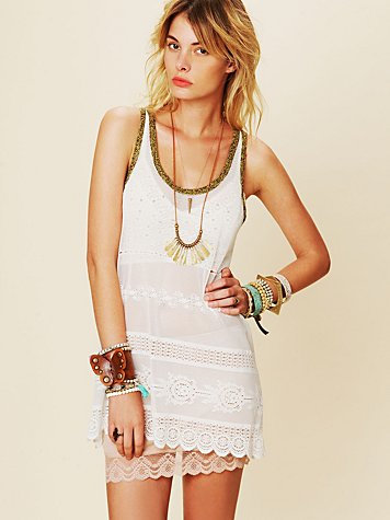 Intimately Free People Mini Slip