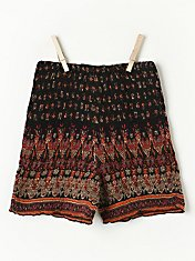 FP ONE Smocked Bike Shorts in Intimates-swim-bikini-sets-fp-exclusives