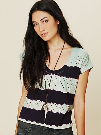 Free People Lou Holey Grail Tee