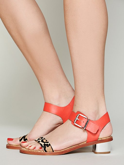 Sam Edelman Trina Mod Sandal in High-Heels