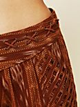 FP New Romantics Patola Ikat Lattice Shorts