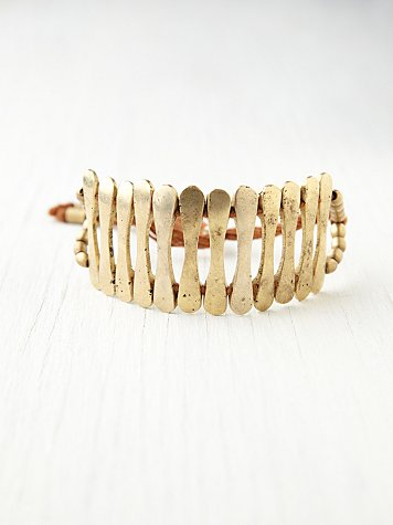 Martine's Dream Golden Gates Bracelet