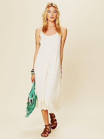 Daftbird Pointelle Tank Dress