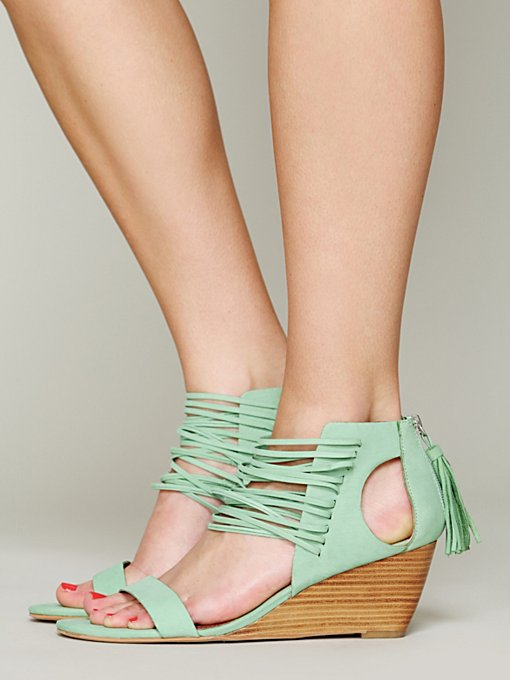 Matiko Cascade Mini Wedge in Sandals