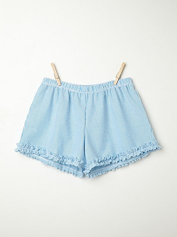 Seersucker Sleep Shorts