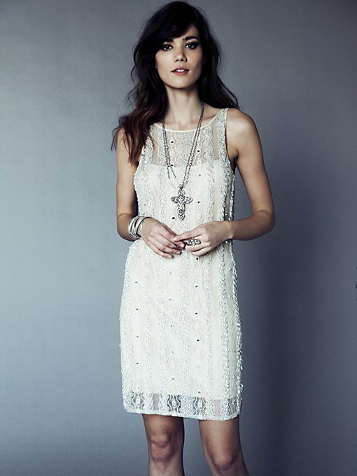 Embellished Shift Dress in sale-sale-dresses