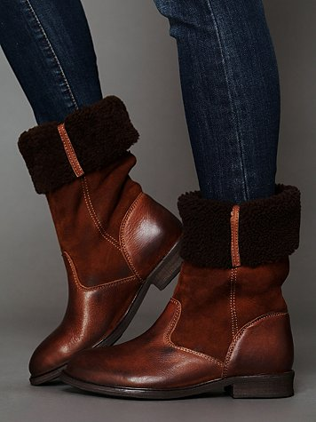 Hudson Vail Shearling Tall Boot