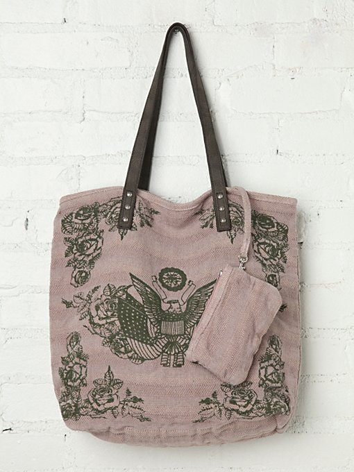 Faded Heartland Tote in endless-summer-accessories