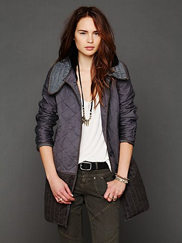 Closed  Quilted Long Jacket
