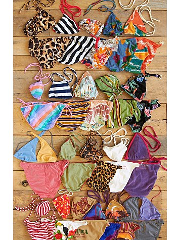 Free People Vintage 1970s French Bikinis