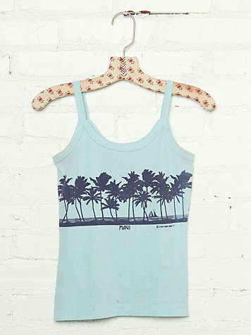 Free People Vintage Maui Graphic Tank