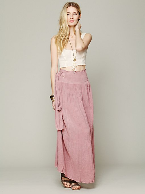 Spinner Maxi Skirt in july-catalog-sneak-preview