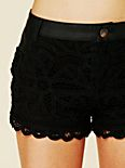 Battenburg Lace Shorts