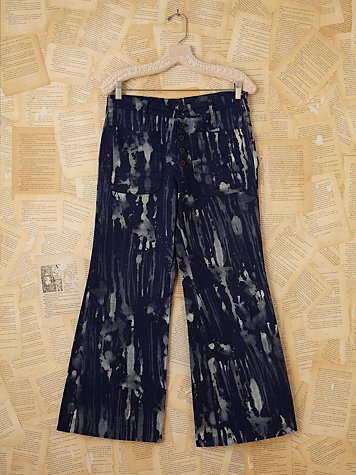 Free People Vintage Acid Wash Wideleg Jeans