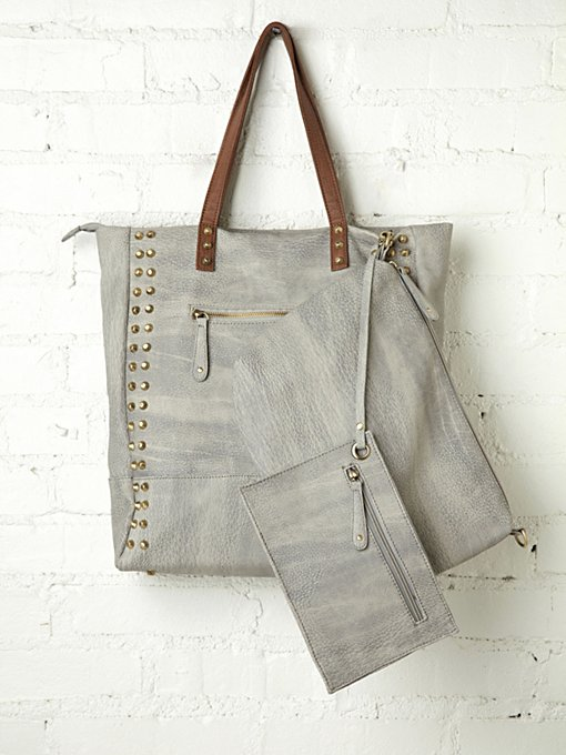 Free People Saratoga Stud Tote in Bags-Wallets