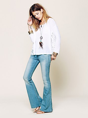 Free People FP Pull On Kick Flare