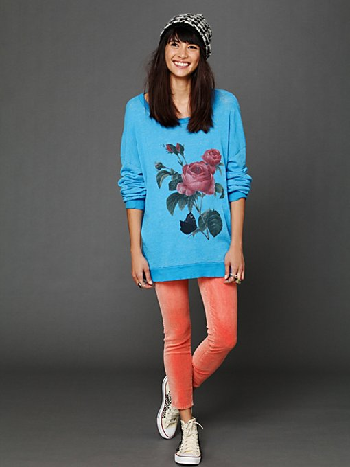 Floral Graphic Tunic