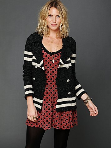 Free People Earned Stripes Jacket