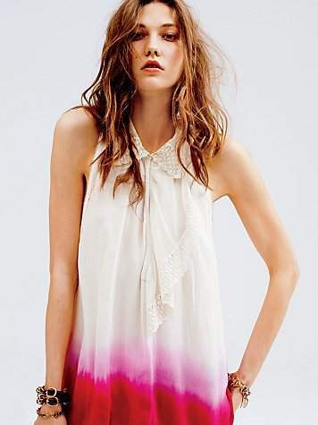 Free People Dip Dye Tunic