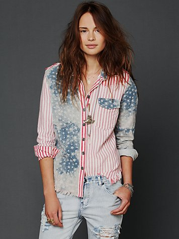 Land Of Liberty Buttondown