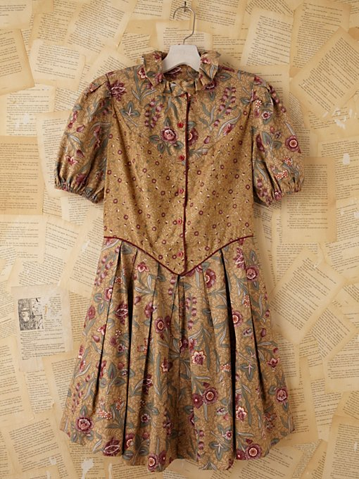 Vintage 1970/80s Batik Dress in Vintage-Loves-dresses
