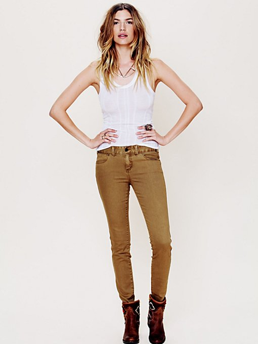 Free People Colored Skinny Jean in skinny-jeans