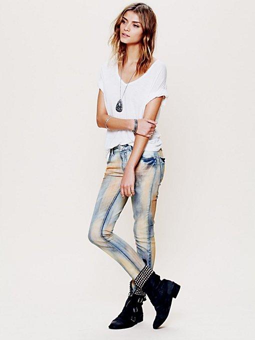 5 bolso de Slim Jeans Slouch