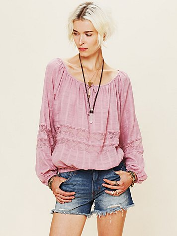 Meadow Bubble Sleeve Top