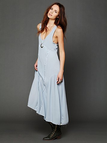 One Teaspoon Dirty Cash Maxi Dress
