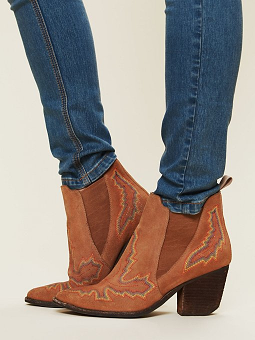Jeffrey Campbell Frontier Stitch Boot in ankle-boots