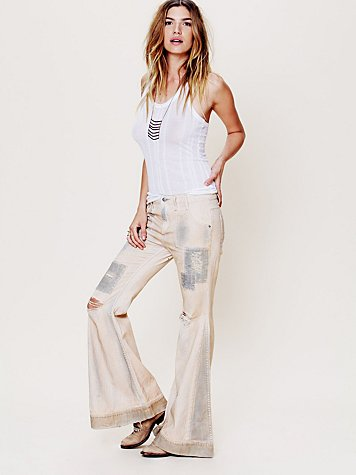 Free People Bleached Out Super Flare