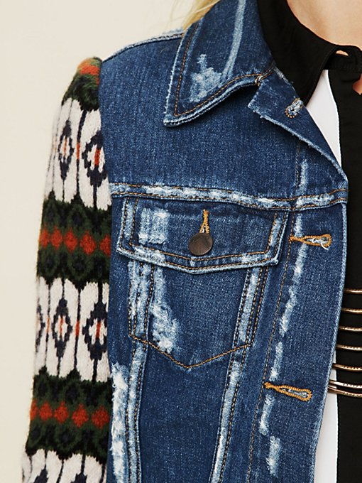 Cypress Yarn Denim Jacket